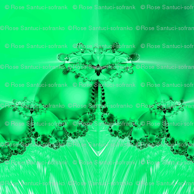 Fractal: Mary's Veil Light Green