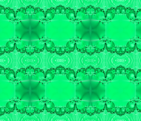 Fractal: Mary's Veil Light Green fabric by artist4god on Spoonflower - custom fabric