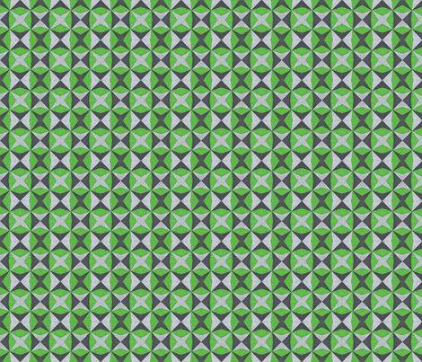 Green and Silver Abstract
