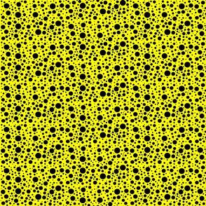 CatsMeow dots - yellow