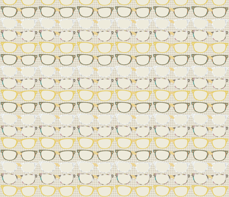 Funky Geek Glasses fabric by meg56003 on Spoonflower - custom fabric