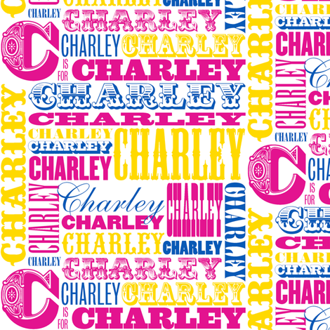 Charley (Custom) fabric by pennycandy on Spoonflower - custom fabric