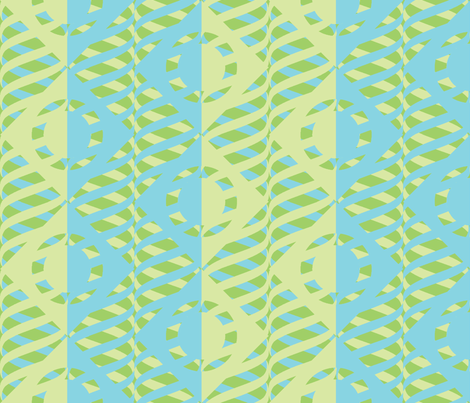Just Me and My Helix BGG fabric by glimmericks on Spoonflower - custom fabric