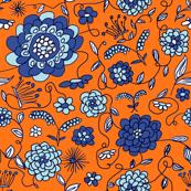 Crown Flowers Orange