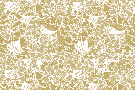 Toss Up Sand fabric by lulabelle on Spoonflower - custom fabric