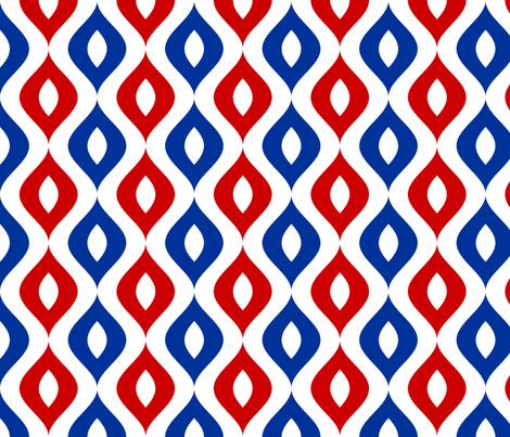 sine wave lens 5 - mod fabric by sef on Spoonflower - custom fabric