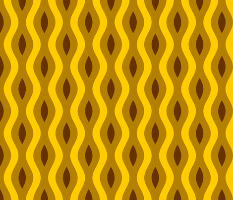 sine wave lens 6 - safari fabric by sef on Spoonflower - custom fabric