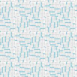 Blocks of Website Code