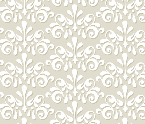 Tromp L'Oeuil - Sand fabric by pixeldust on Spoonflower - custom fabric