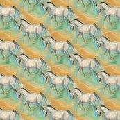 Rwhite_horse_on_brown_spoon_shop_thumb
