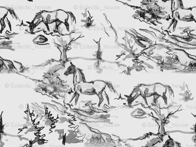 Gray Horses