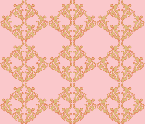 Parisian Girl fabric by ricerafferty on Spoonflower - custom fabric