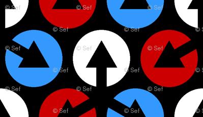 mod arrow dots 3m tails 3
