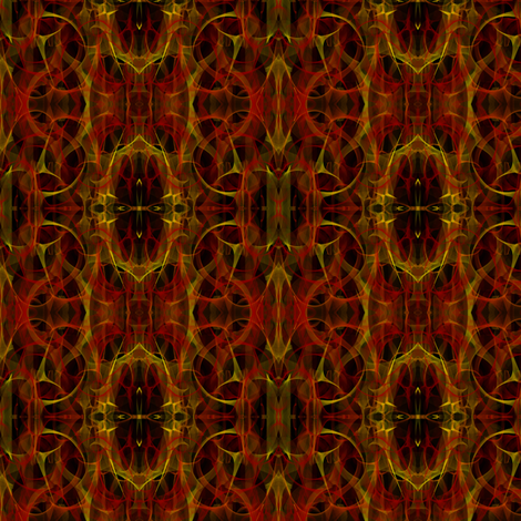 Fiery Geometric fabric by ravynscache on Spoonflower - custom fabric