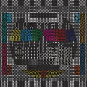 Test Pattern Sampler 1982