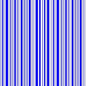 DragonflyZip stripe - true blue