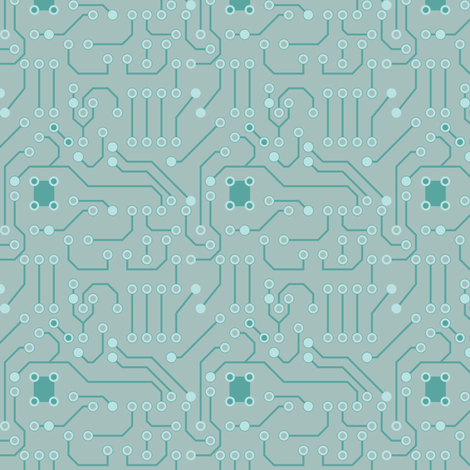 Circuitry   fabric by ebygomm on Spoonflower - custom fabric