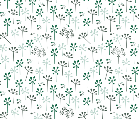 hemlock blossom fabric by exm on Spoonflower - custom fabric