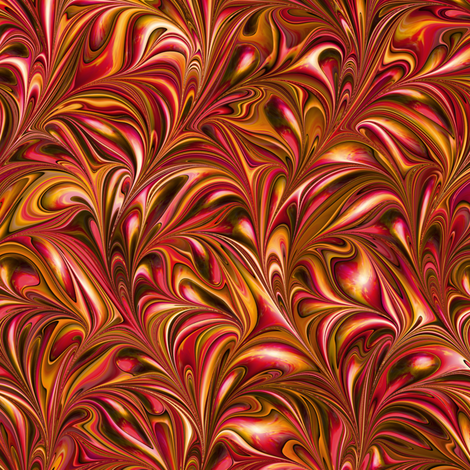 FM031-Swirl fabric by modernmarbling on Spoonflower - custom fabric