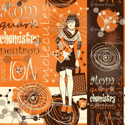 Chic chemist geek