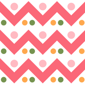 Bright Spring Fun-Chevron