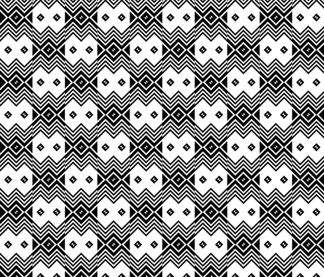 African Traditional Fabric 1 fabric by julia_designs on Spoonflower - custom fabric