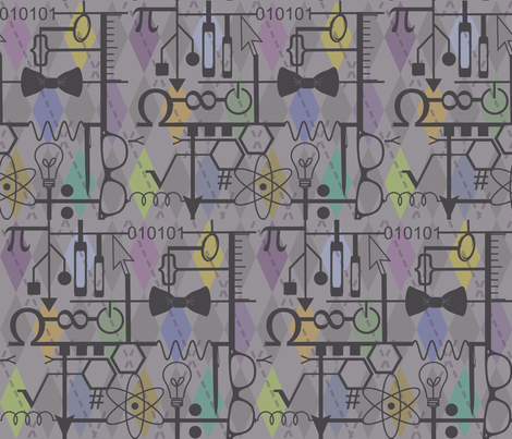 Grey Matter fabric by graceful on Spoonflower - custom fabric