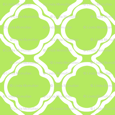 Penny's Trellis Apple Green