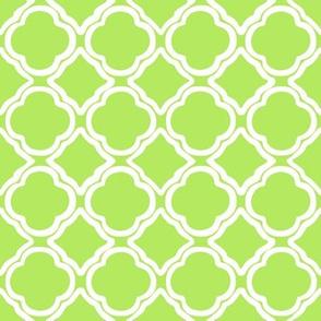 Trellis Green Reverse