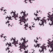 Dragon curve (pink)