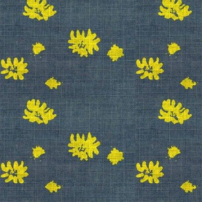 Lovely Linens (Yellow & Charcoal)