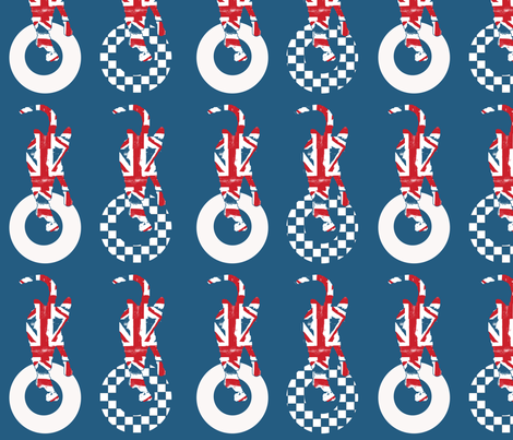mod_kitties fabric by weejock on Spoonflower - custom fabric