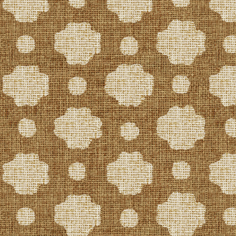 Biscuit Burlap fabric by willowlanetextiles on Spoonflower - custom fabric