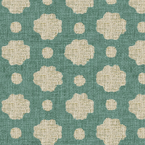 Lake Burlap  fabric by sparrowsong on Spoonflower - custom fabric