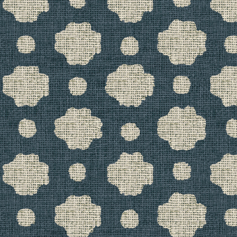Navy Burlap fabric by willowlanetextiles on Spoonflower - custom fabric