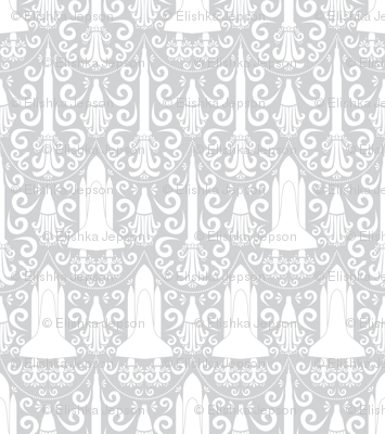 Rocket Science Damask