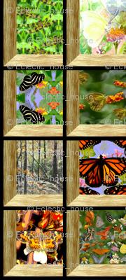 Attic Windows on the Woods