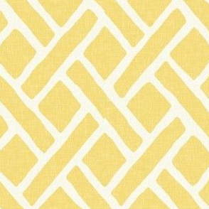 Savannah Trellis in Lemon