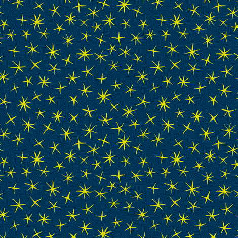 firefly stars fabric by weavingmajor on Spoonflower - custom fabric