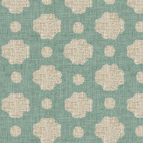 Water Burlap  fabric by willowlanetextiles on Spoonflower - custom fabric