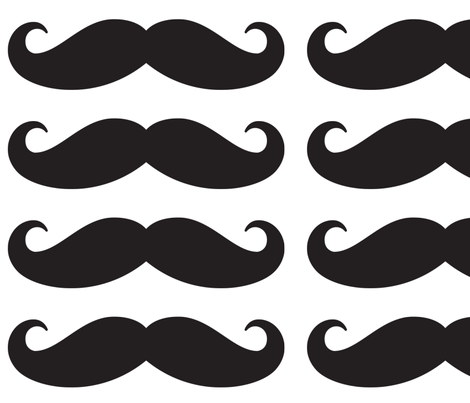 mustache_ties_05 fabric by ΒΘΠ1651 on Spoonflower - custom fabric