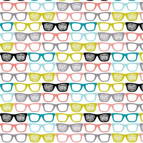 colorful glasses