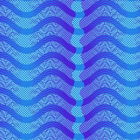 Making waves fabric by keweenawchris on Spoonflower - custom fabric