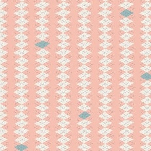 Geeky Argyle Pink