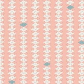 Geeky Argyle Pink