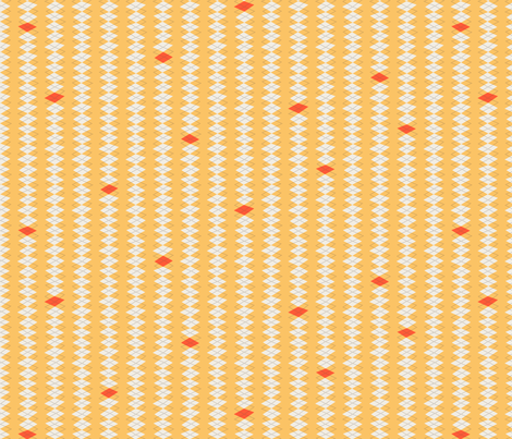 Geeky Argyle Yellow fabric by zesti on Spoonflower - custom fabric