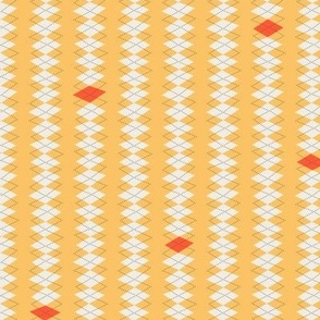 Geeky Argyle Yellow