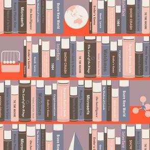 Geeky Bookshelf Pink