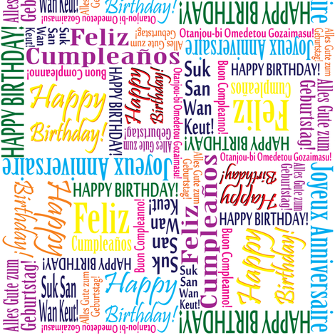 Birthdays-Around-the-World fabric by hmooreart on Spoonflower - custom fabric
