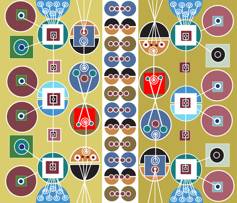 soobloo_geek_world_two fabric by soobloo on Spoonflower - custom fabric